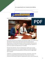 21-02-2019 - Recibirán jóvenes capacitación en materia de delitos electorales -Canalsonora.com