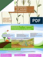 Contaminacion de Aguas Subterraneas