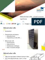1 I. Romijn ECN Solar Cell Overview