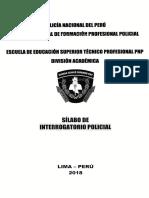 Silabus Interrogatorio Policial.docx