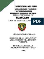 Silabus de Derecho de la Niña, Niño y Adolescente.docx