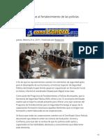 21-02-2019 - Isspe contribuye al fortalecimiento de las policías municipales - Canalsonora.com