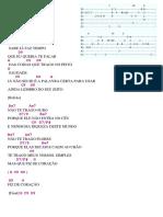 Versos Simples Cifra