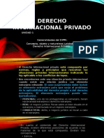 Primer Encuentro Derecho Internacional Privado