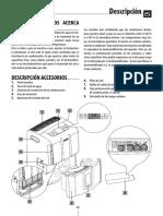 Manual Deshumidificador Tasciugo AriaDry Compact DDS 25