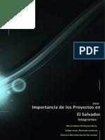Importancia de los Proyectos en El Salvador.docx