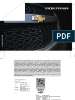 00 Chevrolet Montana 2016 Manual Usuario