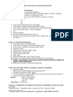 Intructiuni Program Hg 186