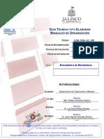 Manual de Organización (Guía)