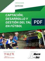 Captacion, Desarrollo y Gestion Del Talento en Futbol