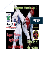 4° Encuentro Marcial 2019