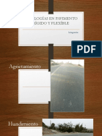 Patologías en Pavimento Rígido y Flexíble