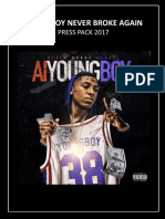 Youngboy Never Broke Again Press Pack 2017