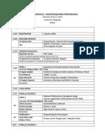 National Scientix Conference - Agenda