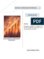 Probabilidad Combinatoria Ed 3