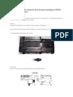 Programación de Modulo de Entrada Analógica AD041 Para Autómata CP1