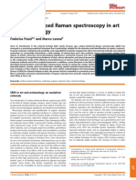 Surface-Enhanced Raman Spectroscopy in Art