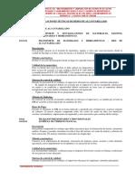 3. Especificaciones Tecnicas Alcantarillado Montevideo