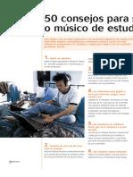 50 Consejos Para Ser Productor o Musico de Estudio
