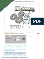 INGENIERIA ELECTRICA_ Curva de Daño de Transformadores en Excel