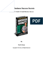 Small Business Success Secrets[1]