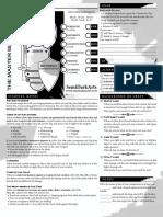 Dungeon World Playbook - The Master Blacksmith (Warrior Fighter Trope)