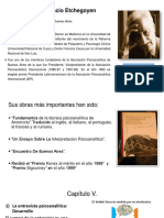 Entrevista en el área psicoanalítica de Horacio ETCHEGOYEN