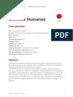 ciencias humanas