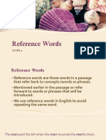 Reference Words