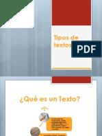 Tipos textuales