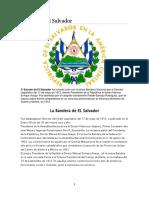 El Salvador, Simbolos Comidas y Mas
