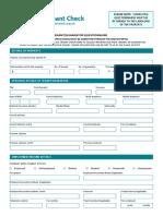 NLA Tenant Check Form JULY 2016