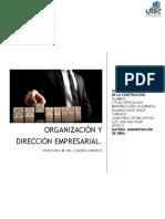 Organización y Dirección Empresarial Bizof