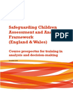 Safeguarding Children assessment and analysis framework. CHILD AND FAMILY TRAINING.pdf