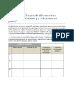 Modelo de La Tecnica de La Rejilla Aplicada Al Planeamiento Estrategico de La Empresa