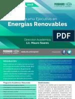 UCES - Programa Ejecutivo en Energias Renovables 2018