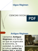 Antiguo Regimen