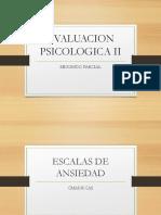 Evaluacion Psicologica II 2016. 3ra. Parte