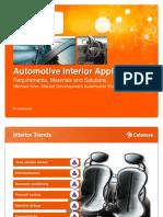 Automotive Interior e