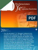 20 Declaraciones de Fe. La Biblia