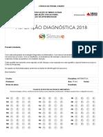 3º ANO Matemática Diagnóstica 2018