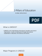 Unesco Pillar of Education