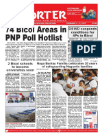 Bikol Reporter February 3 - 9. 2019 Issue