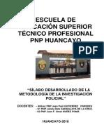 Silabus de la Metodología de la Investigación Policial.docx