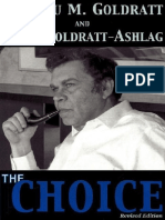 The Choice by Efrat Goldratt Ashlag Eliyahu M. Goldratt