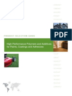 PC-005R3 Polymers and Additives for Paints, Coatings, And Adhesives