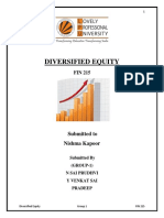 Diversified Equity /Mutual Funds