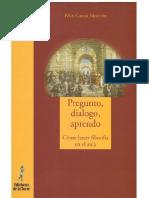 [Proyecto didáctico Quirón. Filosofía para Niños - 28] Félix García Moriyón - Pregunto, dialogo, aprendo_ Cómo hacer filosofía en el aula (2014, Ediciones de la Torre).pdf