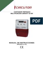 Contactor Trifasico Multifunción Cirwatt B500