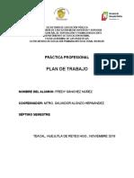 Plan Fredy Sanchez Nuñez